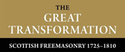 The Great Transformation: Scottish Freemasonry 1725-1810